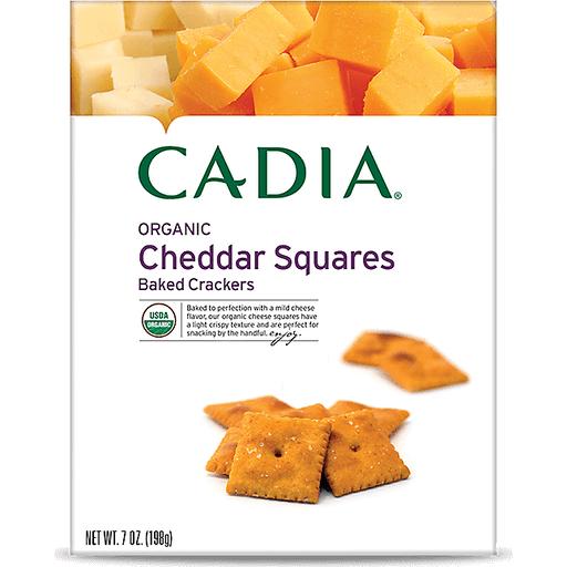 Cadia Cheddar Squares Crackers