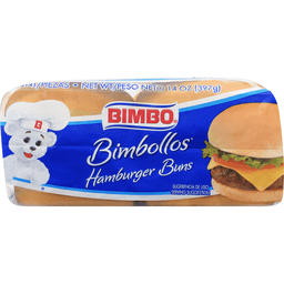 Bimbo White Hamburger Buns Fullerton