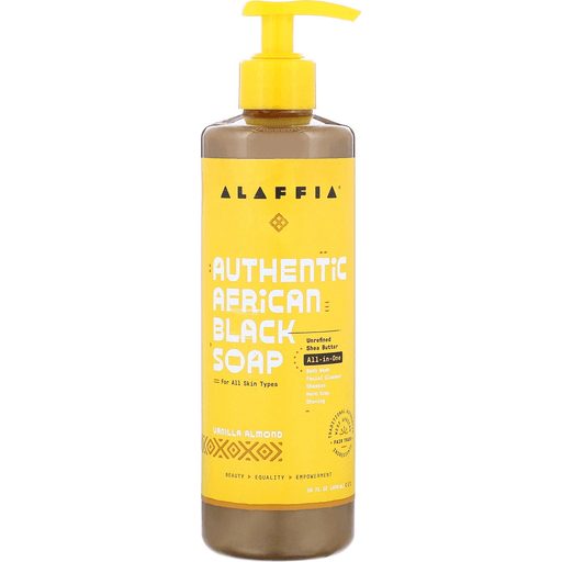 Alaffia African Black Soap - Vanilla Almond