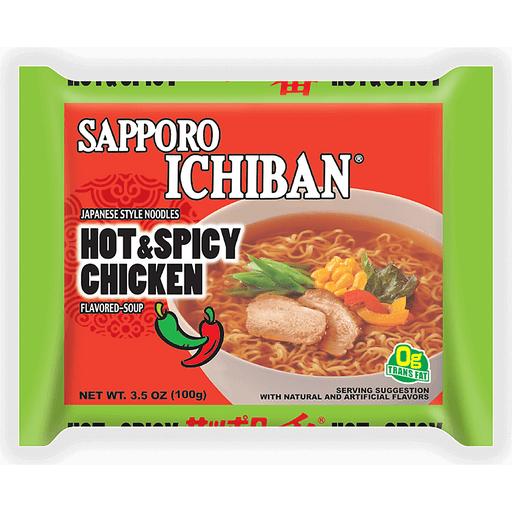 Sapporo Ichiban Ramen - Hot & Spicy